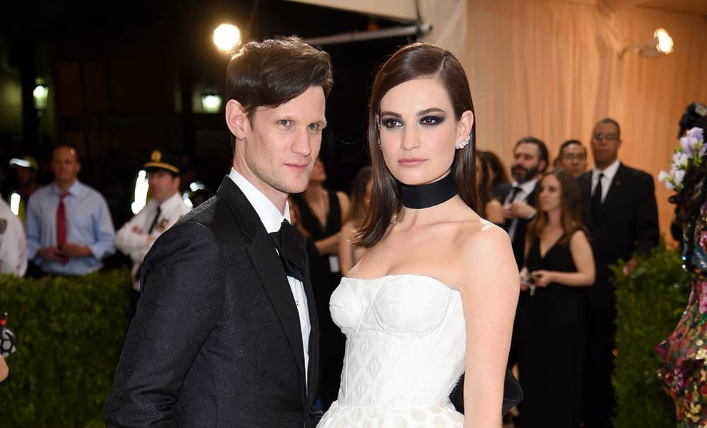 Lily James y Matt Smith se dan una segunda oportunidad