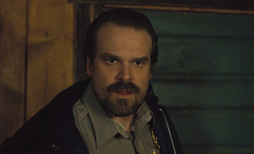 David Harbour cumple el sueño de una fan de 'Stranger Things'