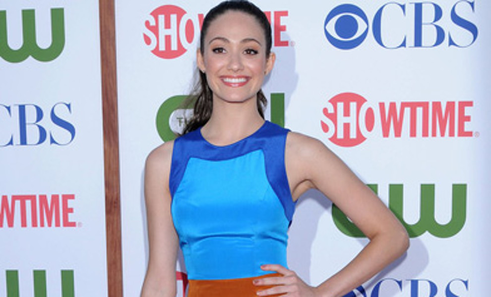 Emmy Rossum en la fiesta The CW And Showtime TCA Party