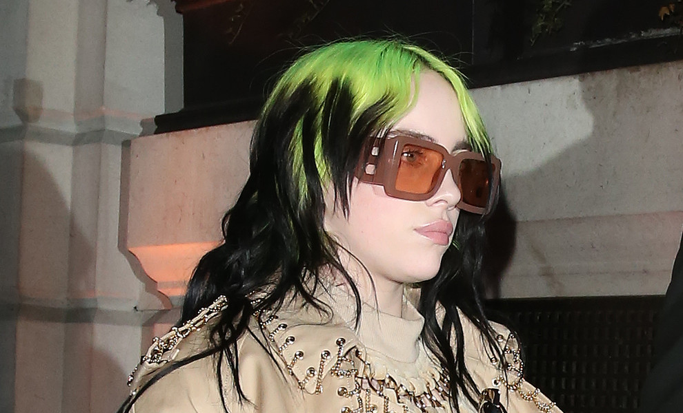 Billie Eilish da la sorpresa y dice adiós a su color de pelo