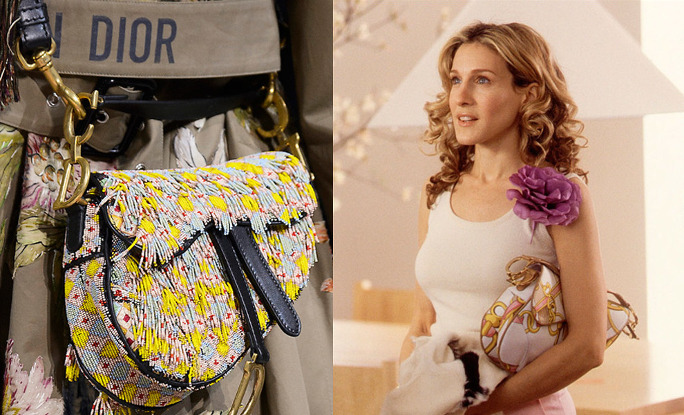 Las 'influencers' ya lucen en Instagram su bolso Saddle de Dior