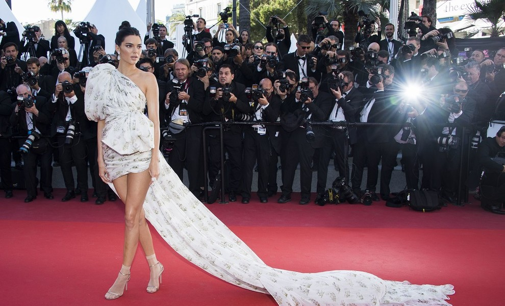 Y llegó Kendall Jenner a Cannes